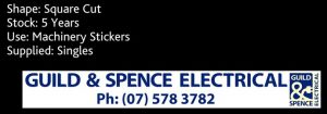 Sticky Stickers Testimonials Guild Spence Electrical